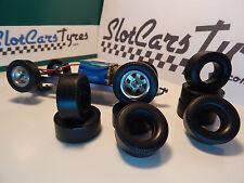 8 pneus AR uréthane pour Classic 1/24