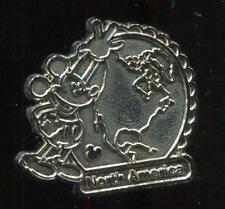 WDW 2012 Hidden Mickey Mickey Continents North America Chaser Disney Pin 88675
