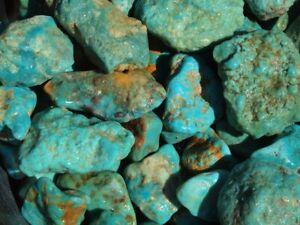 1/4 Pound Lot Kingman Arizona Turquoise Rough High Graded
