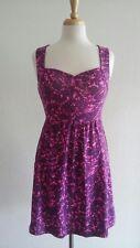 I LOVE H81 Women's Purple Pink Dress Sz S
