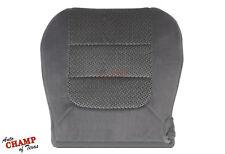 2003 Ford F150 XLT Super-Crew-Cab -Driver Side Bottom Cloth Seat Cover Dark Gray