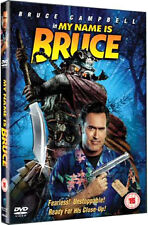 MY NAME IS BRUCE - DVD - REGION 2 UK
