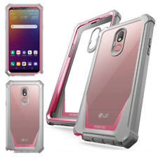For LG Stylo 5V / LG Stylo 5 Case Anti-Scratch Clear Back Protector Cover Pink