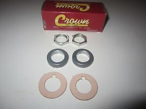68 - 86 CJ 5 6 7 8 Windshield Wiper Shaft, Gasket, Spacer and Nut Kit Both Sides