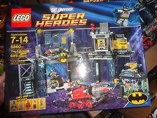 LEGO DC UNIVERSE SUPER HEROES BATMAN -THE BATCAVE- SEALED, 6860, 689 PIECES