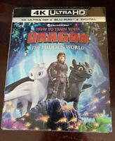 How to Train Your Dragon 3 The Hidden World 4K+blu-ray+Digital. Brand New sealed