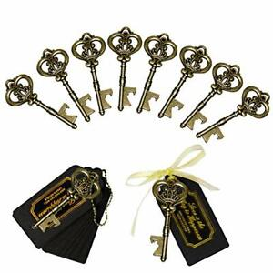 60pcs Wedding Key Bottle Opener,  Vintage Skeleton Key Bottle Opener