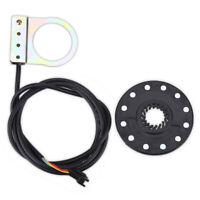 Sensor de Velocidad Bicicleta Eléctrica Pedales Pas 12 Imanes E-Bike Sistema