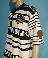 COOGI Black White Striped Kings Of Color Polo Shirt Size XXL 2XL 2XLarge (A7)