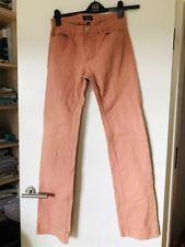APC Pink denim jeans with a slight flared leg 27