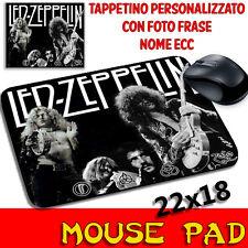 Mouse Pad Led Zeppelin Mouse personalizzato con foto,logo