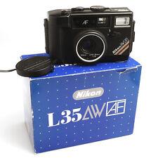 Nikon L35AW AF 35mm 1:2.8 wasserdichte Kleinbildkamera in schönem Zustand