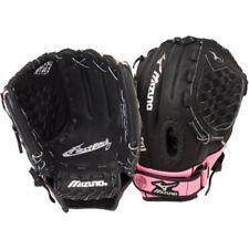 "NEW Girls Youth Mizuno Fastpitch Softball Glove Mitt Black / Pink 11"" RH Throw"