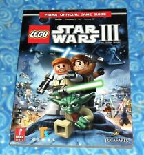 Lego Star Wars III The Clone Wars Prima Official Game Guide Book Excellent