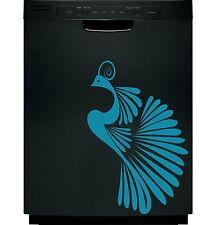 Peacock Elegant Decal Sticker Dishwasher Refrigerator Washing Machine Stove Dorm