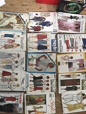15 1980s Sewing Patterns Retro Vintage Original