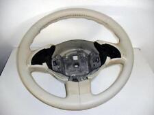 Coprivolante Fiat nuova 500 vera pelle avorio