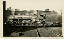 7C280 RP 1930/40s RUTLAND RAILROAD ENGINE #83 AT RUTLAND VT
