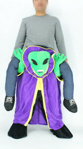 Alien Mascot Costume Suits Cosplay Party Game Dress Outfits  Adv