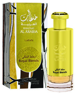 Khaltaat Al Arabia Royal Blends   Eau De Parfum 100ml   by Lattafa