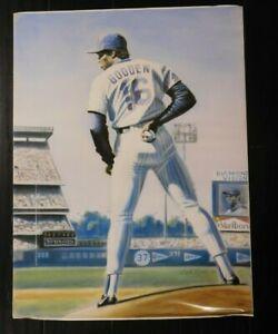 Dwight Gooden New York Mets  Baseball Poster 18x24 1986 pose 2