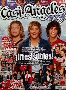 CASI ANGELES # 44 - TEEN MAGAZINE - OCT. 10TH, 2010  - BUENOS AIRES, ARGENTINA