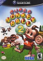 Super Monkey Ball 2 Nintendo Gamecube Game Complete