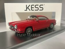 KESS MODEL 1/43 Alfa Romeo 1900 SS Ghia Coupè 1954 Red KE43000210