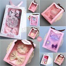 LollipopHouse Gift Sets Baby Shower Gift Girls Birthday Present Hair Accessories