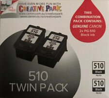 Genuine Canon PG510 Ink Cartridge - Twin Pack RRP$61