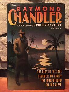 Four Complete Philip Marlowe Novels by Raymond Chandler HCDJ