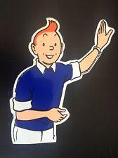 Autocollant Tintin 21 x 18 cm Lombard ETAT NEUF