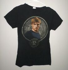 HUNGER GAMES District 12 youth lrg T shirt dystopian sci-fi movie 2012 tee Peeta