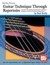 Guitarra técnica a través de Repertorio