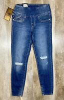 Rock & Republic Fever Denim Rx Pull-On Jean Legging Distressed Womens Sz 0 S $88
