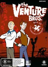 The Venture Bros.: Box of Calamitous Content (Seasons 1 - 6) (DVD) Brand New