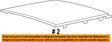 Jeep CHRYSLER OEM 11-15 Grand Cherokee-Sunroof Moonroof Glass 68081060AB