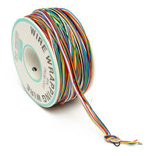 DANIU 250M 8-Wire Colored Insulated P/N B-30-1000 30AWG Wire Wrapping Cable