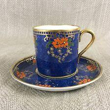 Art Deco Cup & Saucer Demitasse Coffee  Vintage China Collingwood