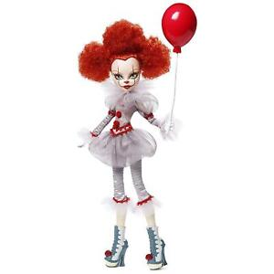 IT Pennywise Monster High Collector Doll Premium Clown Costume Mattel