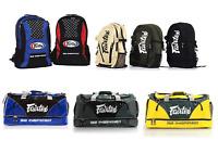 Custom Fairtex Muay Thai Boxing Gym Bag Backpack   MMA  Sports