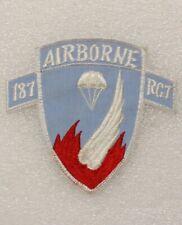 New listing 187th Airborne Regimental Combat Team Patch modern Copy (U.S. Army 0959)