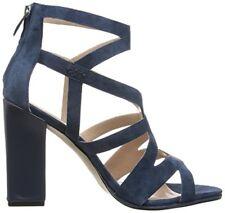FRENCH CONNECTION Isla Suede Shoes Damen Schuhe Sandalen Navy Blau Gr.: 38