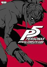 3-7 Days to USA DHLDelivery New PS3/4 Persona 5 Official Complete Guide Japanese