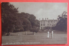 Postcard c.1920 GOLF COURSE & PUTTING GREEN SEWERBY PARK BRIDLINGTON YORKSHIRE