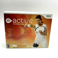 EA Sports Active Personal Trainer Nintendo Wii New Damaged box