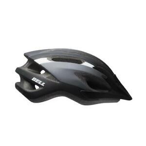 Bell Crest Universal Bicycle Cycle Bike Road Helmet Matt Black / DK - 54-61 CM