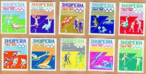 Albania 1964 Complete Set MNH Michel Catalog nº 859/68 ***