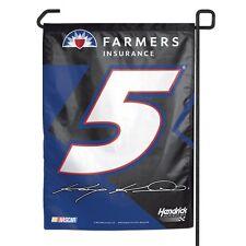 Kasey Kahne Wincraft 2016 #5 Farmer's Insurance 11x15 Garden Flag FREE SHIP!