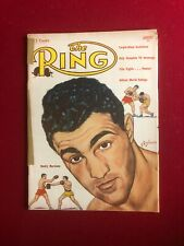 "1954, Rocky Marciano, ""The Ring"" Magazine (No Label) Scarce / Vintage"